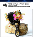 TV Play Legend of Tang Empress Wu ZeTian Two-Head Hair Wig n Hair Accessories for Stage Performance or Photography