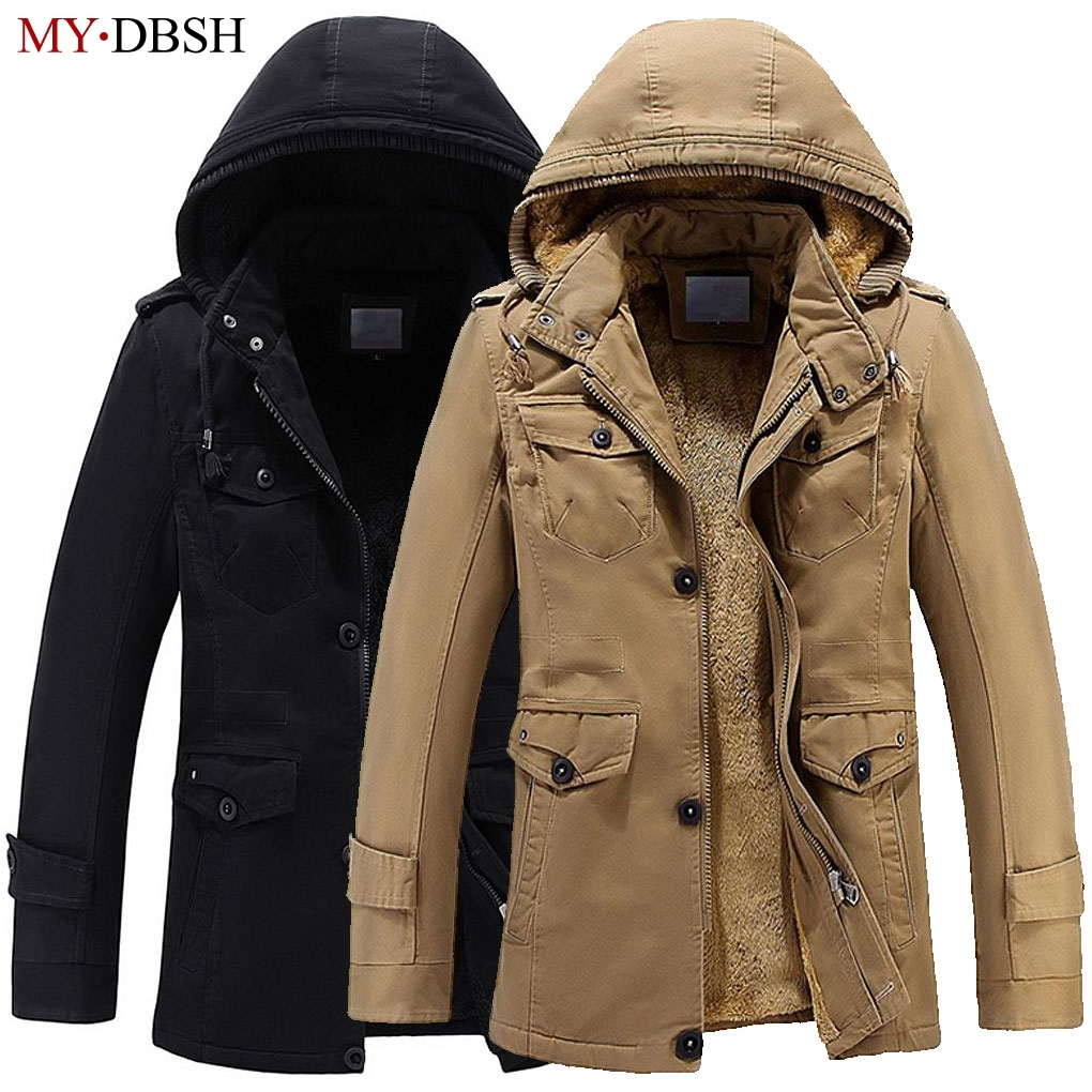 Mens Winter Jacket Fashion Windbreaker Top Quality Military Waterproof Men Jackets Coat Brand Clothing Army Casaco Masculino ...