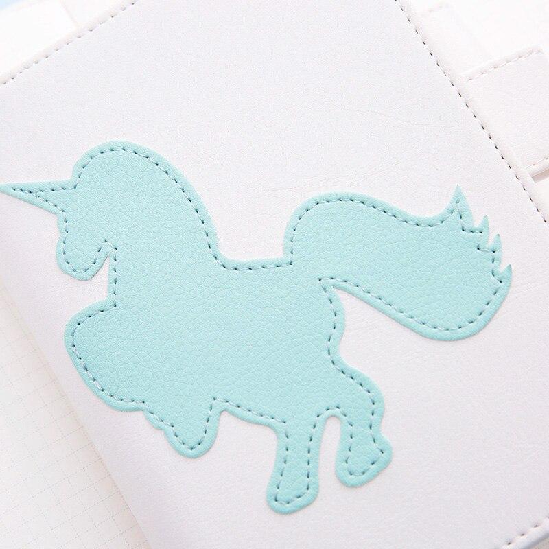Lovedoki Notebook coreeană proaspătă Unicorn A5A6 personale - Blocnotesuri și registre - Fotografie 2