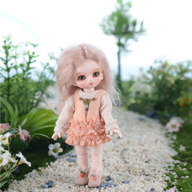 OUENEIFS Flower-fairy prince Soom bjd sd doll resin doll 1/12 body model reborn baby dolls eyes High Quality toys shop  gift box