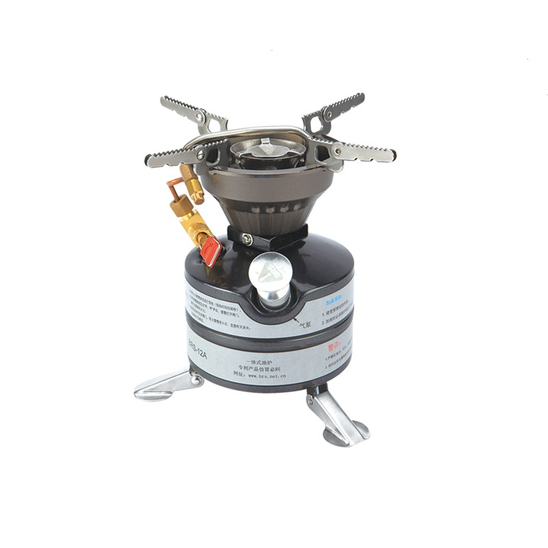 BRS 12A Firepower Portable Folded Camping Equipment Oil Gas Titanium Outdoor Cookware Camping Stove
