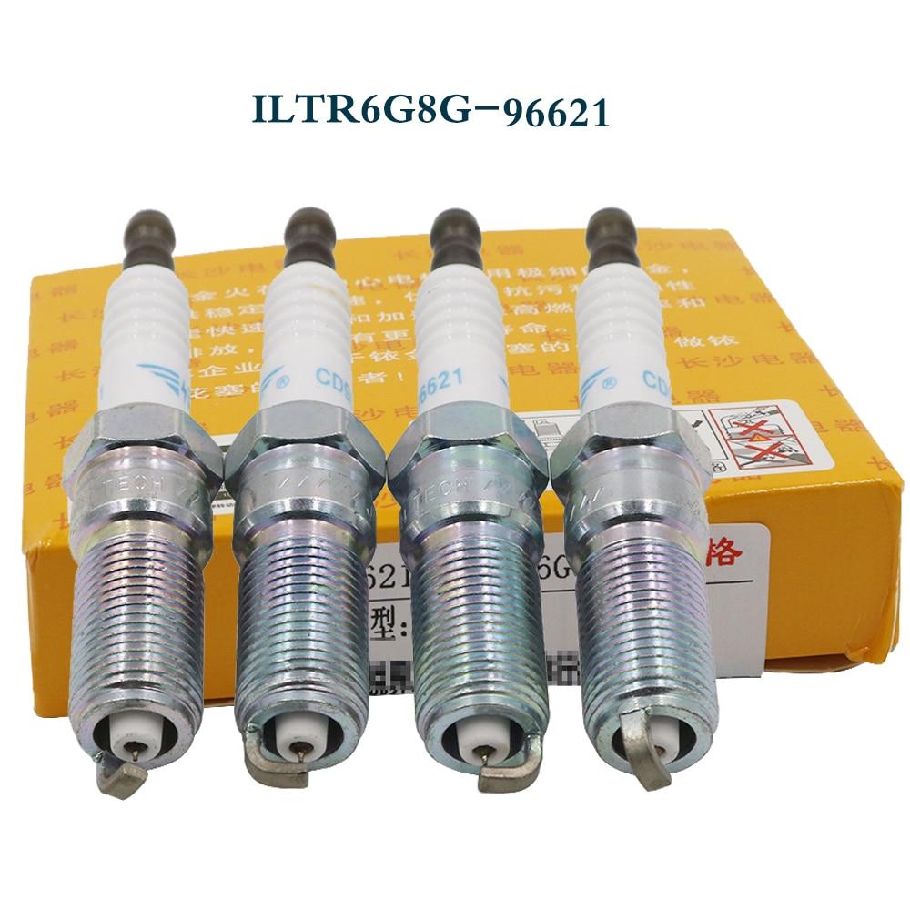 Bujía-Platinum Electrodo Ngk iltr6g8g 96621 Laser Iridium Bujía