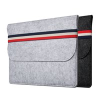 Felt Soft Sleeve Bag Case For Apple MacBook Air 11 12 Pro 13 15 Retina Case