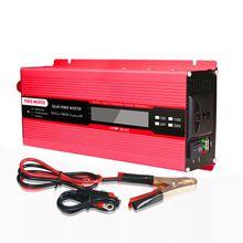 2000w Solar Inverter Multifunctional Travel Power Supply Control USB Car power inverter DC 12V AC 220V High Power Conversion
