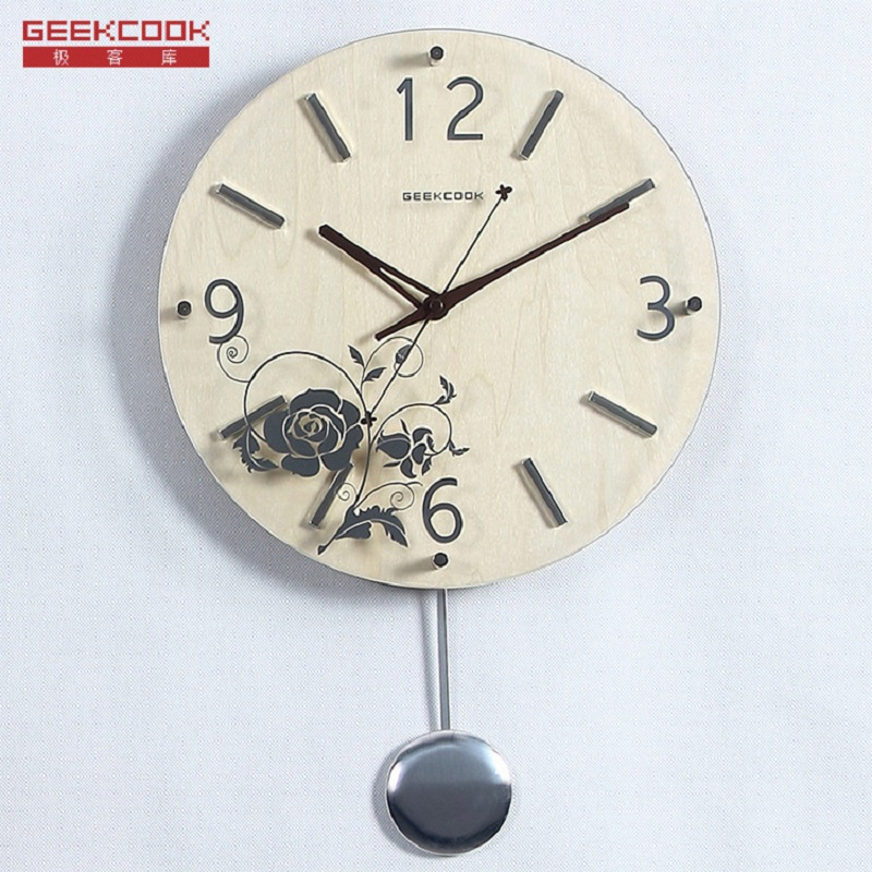 Horloge Murale Saat Reloj Duvar Saati Horloge Murale Relogio de parede Klok Horloge Murale en bois de verre et montres montre horloges pendulaires