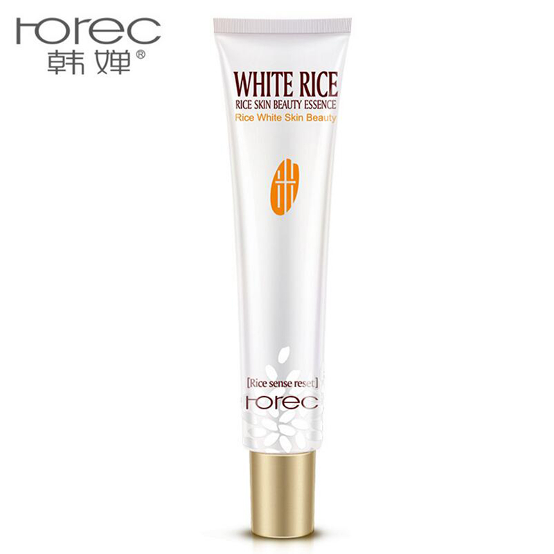 HANCHAN White Rice Eye Cream Face Care Anti Wrinkle Remove Dark Circles Moisturizing Hydrating Whitening Firming Eye Cream