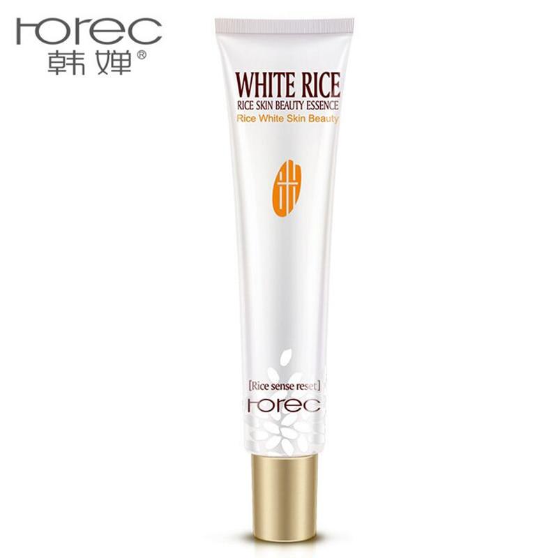 HANCHAN White Rice Eye Cream Face Care Anti Wrinkle Remove Dark Circles Moisturizing Hydrating Whitening Firming Eye Cream