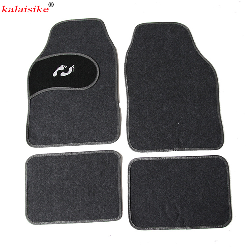 kalaisike universal car floor mats for Suzuki All Models swift SX4 grand vitara vitara jimny Kizashi car styling car accessories все цены