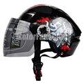 Open Face Helmet Motorcycle Bike Bicycle Motorcycle Motocross Off Road ATV Dirt Bike Helmet With Visor Racing Gear M L XL