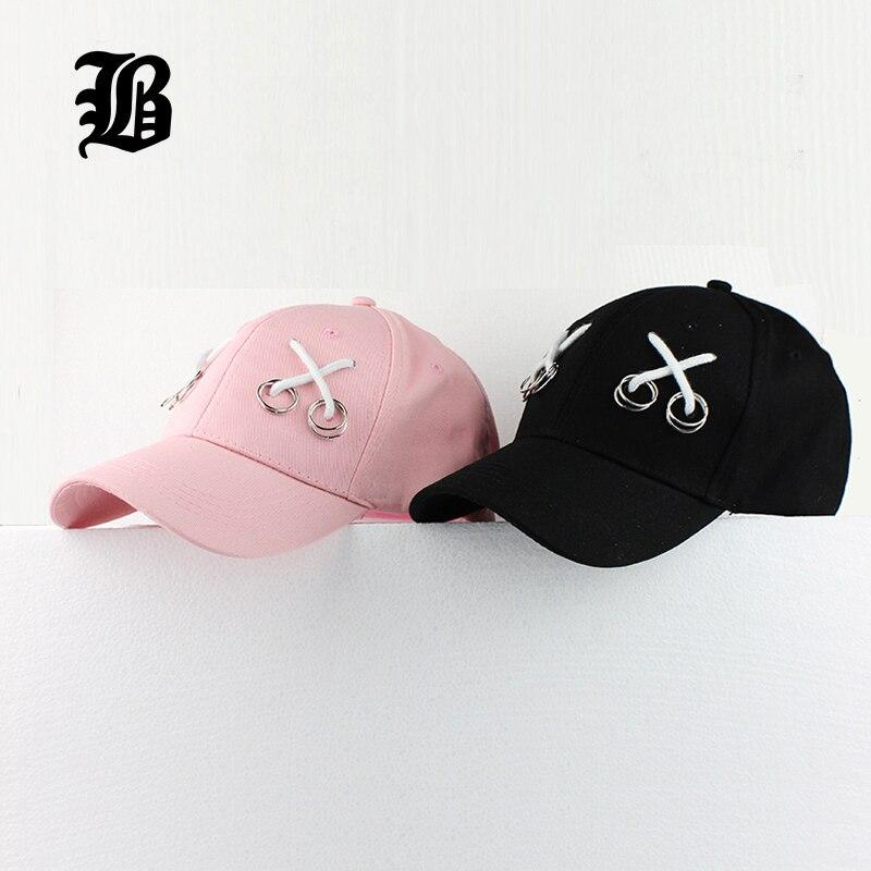 Prix pour [FLB] Casquettes de Baseball Personnalisé Papa Chapeau Équipée Lron Anneau snapback caps casquette Os Mâle chapeaux pour hommes Femmes