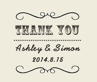 Wood Rubber Personalized Custom Wedding Stamps Invitation Card Seal The Logo Thank You Name Stamp DIY
