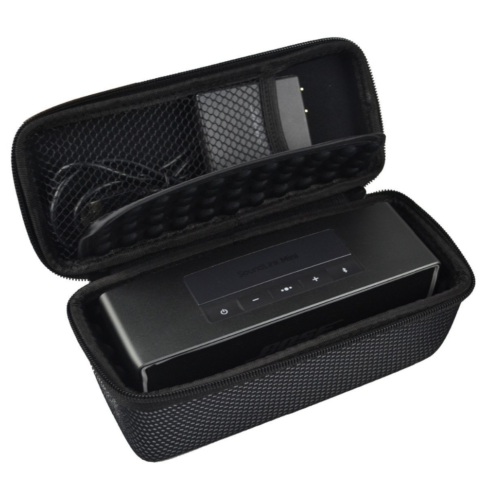 2017 New Hard Sleeve for Bose Soundlink Mini 1 and 2 Bluetooth Wireless Speaker Portable Carrying Case(Fits the Charger Cable)