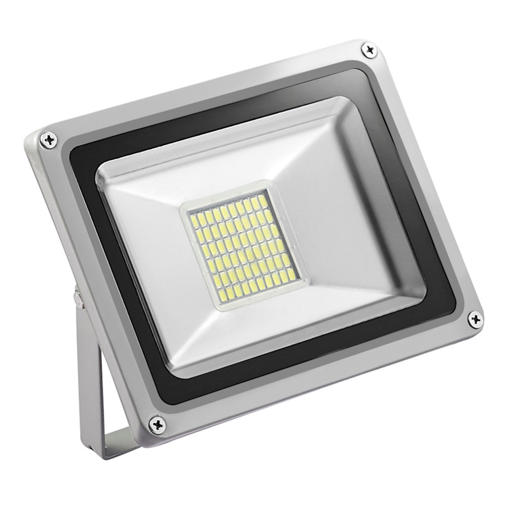 10PCS GERUITE 30W LED Floodlights 5730 SMD 3300 LM 220V LED Flood Lampe til skilte Stadium Square Billboard Building Floodlight