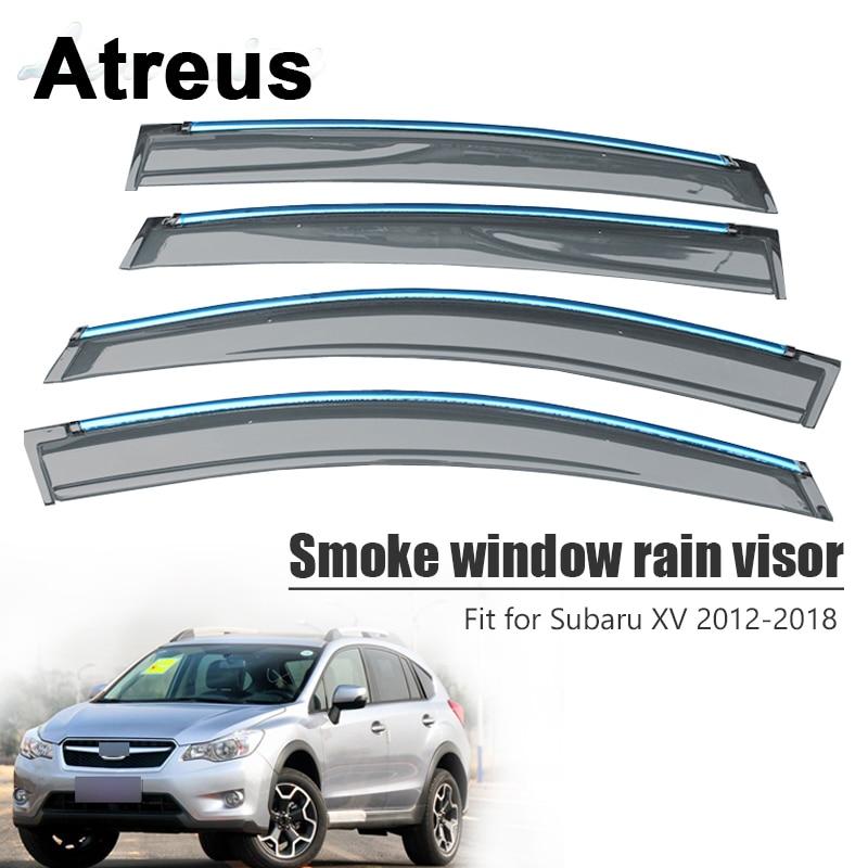 Atreus For Subaru XV 2012 2013 2014 2015 2016 2017 2018 Car Accessories Door Smoke Window