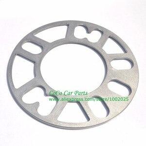 Image 2 - 2PCS Universal Alloy Aluminum Wheel Spacer Shims Plate 4 5 STUD 3mm 5mm 8mm 10mm FIT 4x100 4x114.3 5x100 5x108 5x114.3 5x120