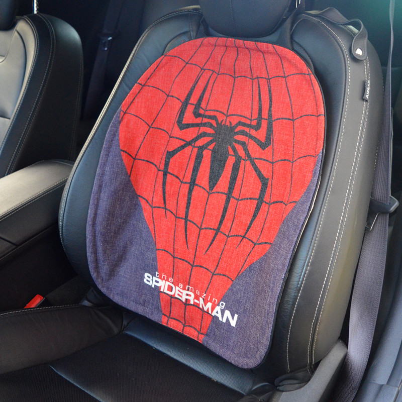 1 pc Breathable car seat pad fit for most cars/summer cool seats cushion Cartoon Surperman Luxurious universal size car cushion