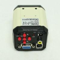2.0MP HD Industrial Digital Electron Microscope Camera Lens VGA CVBS USB AV TV Outputs Cellphone Motherboard maintenance testing