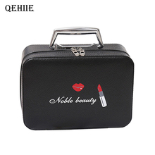 Fashion Girl Cosmetic Makeup Case Large Capacity Professional Makeup Artist Suitcase Woman