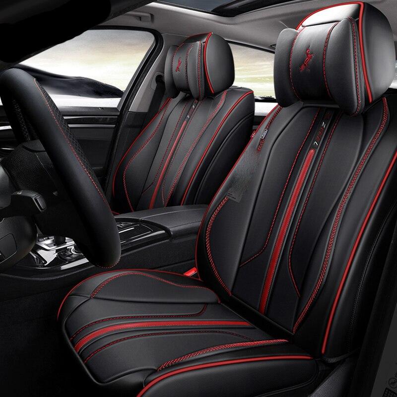3D Full Surround Design Esportes Almofada Tampa de Assento Do Carro Para Assentos de Carros Para BMW 1 5 3 4 5 6 7 série GT M3 X1 X3 X4 X5 X6 SUV - 5