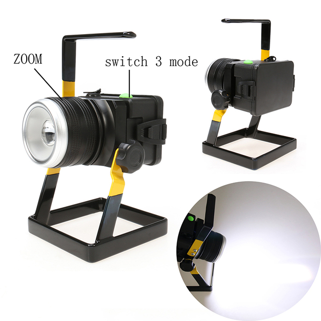 Aliexpress buy rechargeable 3 mode zoom 30w t6 flood light rechargeable 3 mode zoom 30w t6 flood light portable outdoor lighting camping light zoom led flood mozeypictures Gallery