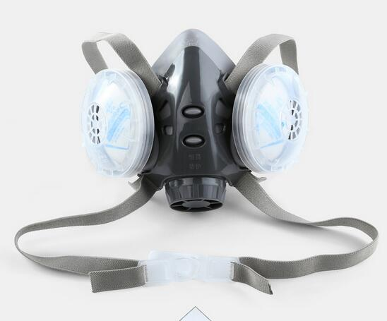 Precise Dusk Masks Anti Dust Respirator Filter Mask Pm2.5 Protective Breather Valve Facepiece Painting Spraying Industrial Pesticide Back To Search Resultsbeauty & Health Masks