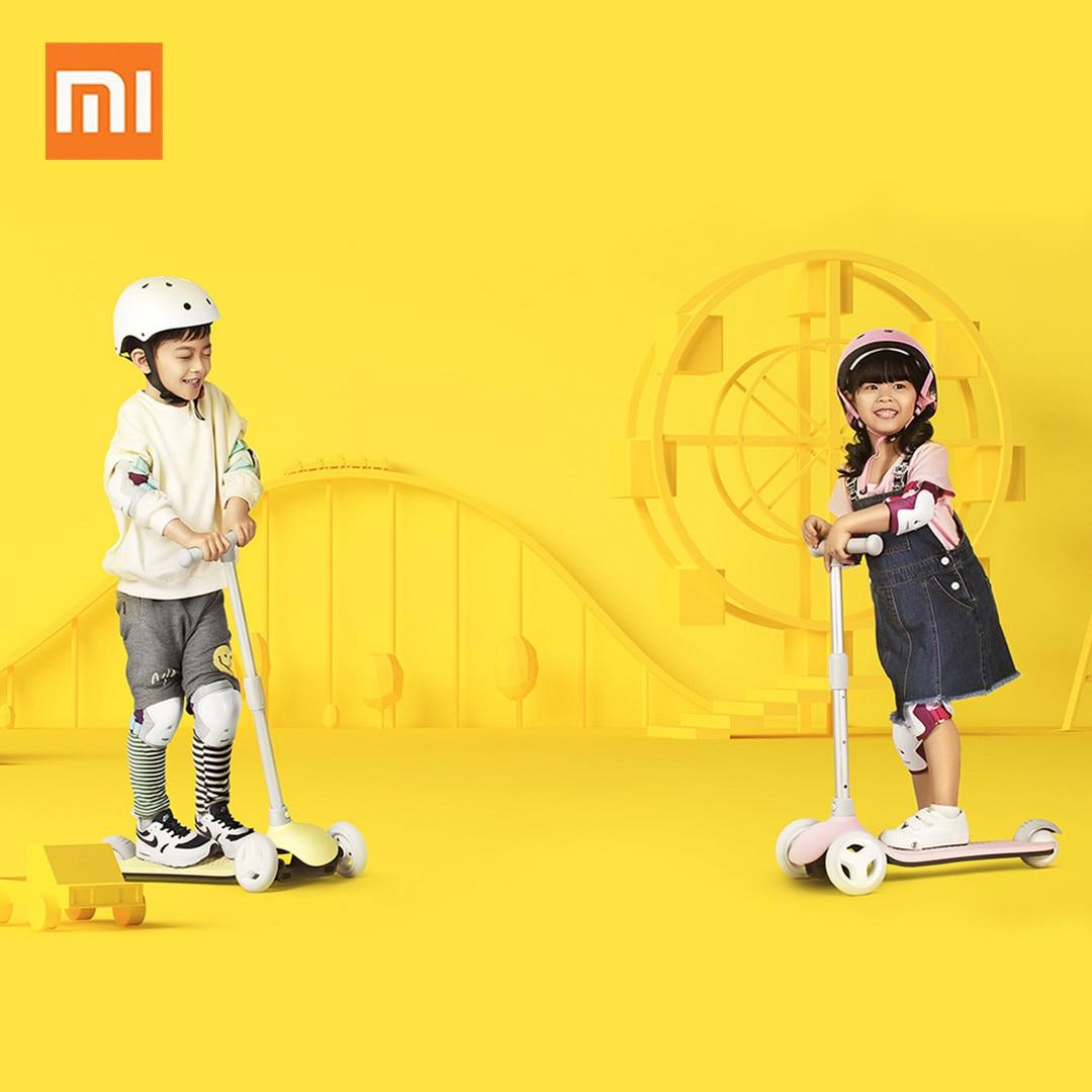Xiaomi bébé pliant Balance vélo enfants scooters Tricycle 1-6 ans garçon fille monter sur jouets 3 roues aluminium rouleau Skateboard