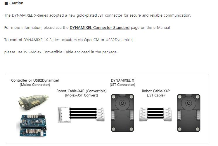 DYNAMIXEL XH430-W210-R Coréia ROBOTIS Dynamixel X série Atuador braço mecânico leme