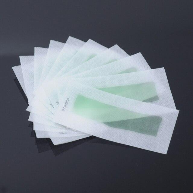 10 adet/grup Çift Taraflı Kullanım Rulo Saç Çıkarıcı Balmumu Şeritleri Tüy Dökücü Balmumu Epilatör Kağıt Için Yüz/Bacaklar Saç temizleme kremi P2