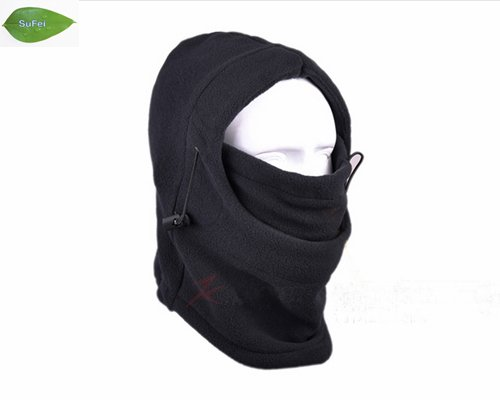 Black Warm Full Face Cover Winter Ski Mask Beanie Hat Scarf, Fishing Hat ,free shipping TH01 chifres malevola png