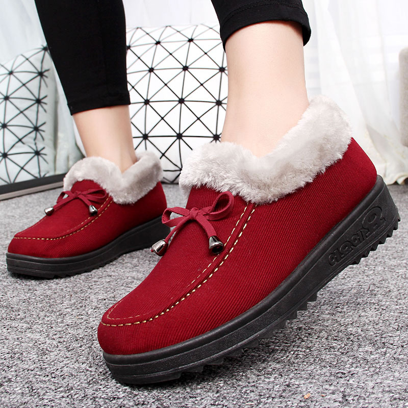 Butterfly-knot-flat-women-winter-boots-fahsion-short-plush-fur-ladies-ankle-boots-black-causal-warm