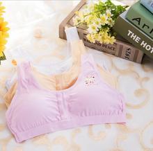 Baby Girl Training Bras for 10-14Y kids Lace Floral Pink Girls Underwear Bra Children Underclothes Sport Undies #2132