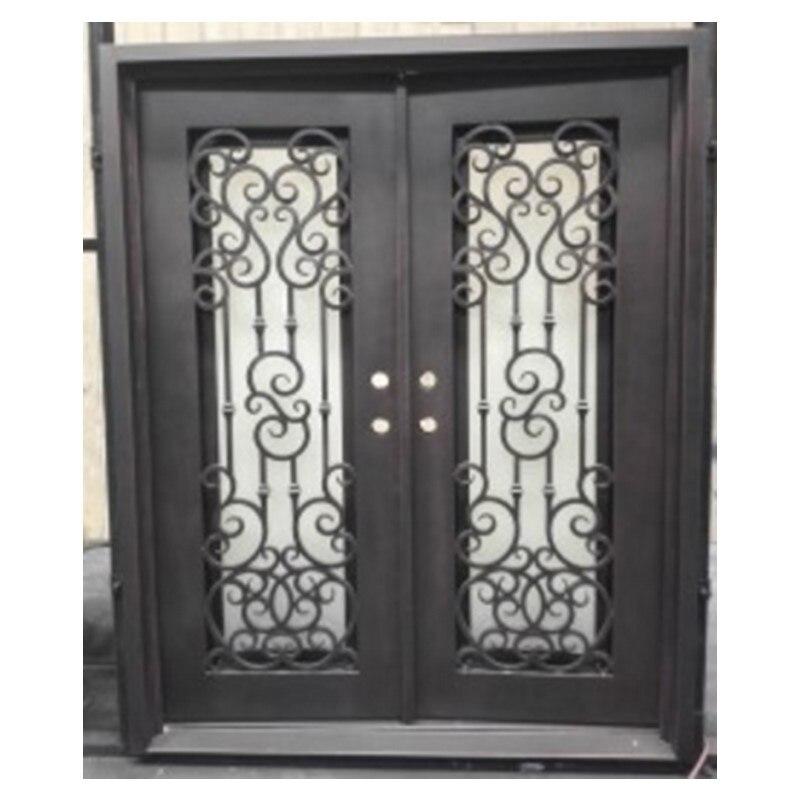 Двойные французские двери распашные роскоши, двойные входные двери арочные двойные входные двери
