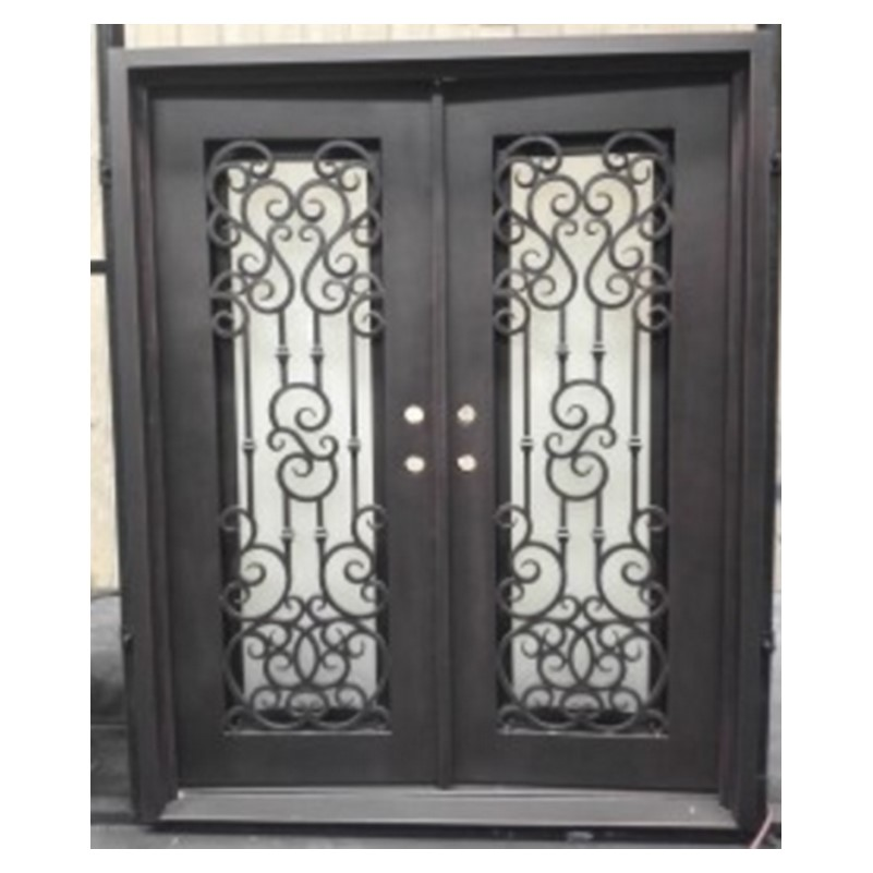 Us 13000 Double Swing French Doors Luxury Double Entry Doors Arched Double Entry Doors In Doors From Home Improvement On Aliexpress 1111double