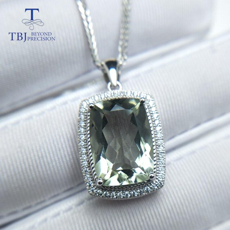 Woman Hot Sale Huge Oval Cut Green Amethyst Gems Silver Charming  Bracelets