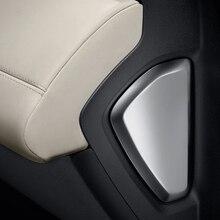 Для Landrover Range Rover велярный 2017 ABS матовое серебро сторона украшения крышки отделкой автомобильные аксессуары 2 шт.