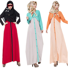 Turkish women clothing Abaya muslim dress fake two-piece islamic abaya jilbab musulmane vestidos longos clothes kaftan giyim