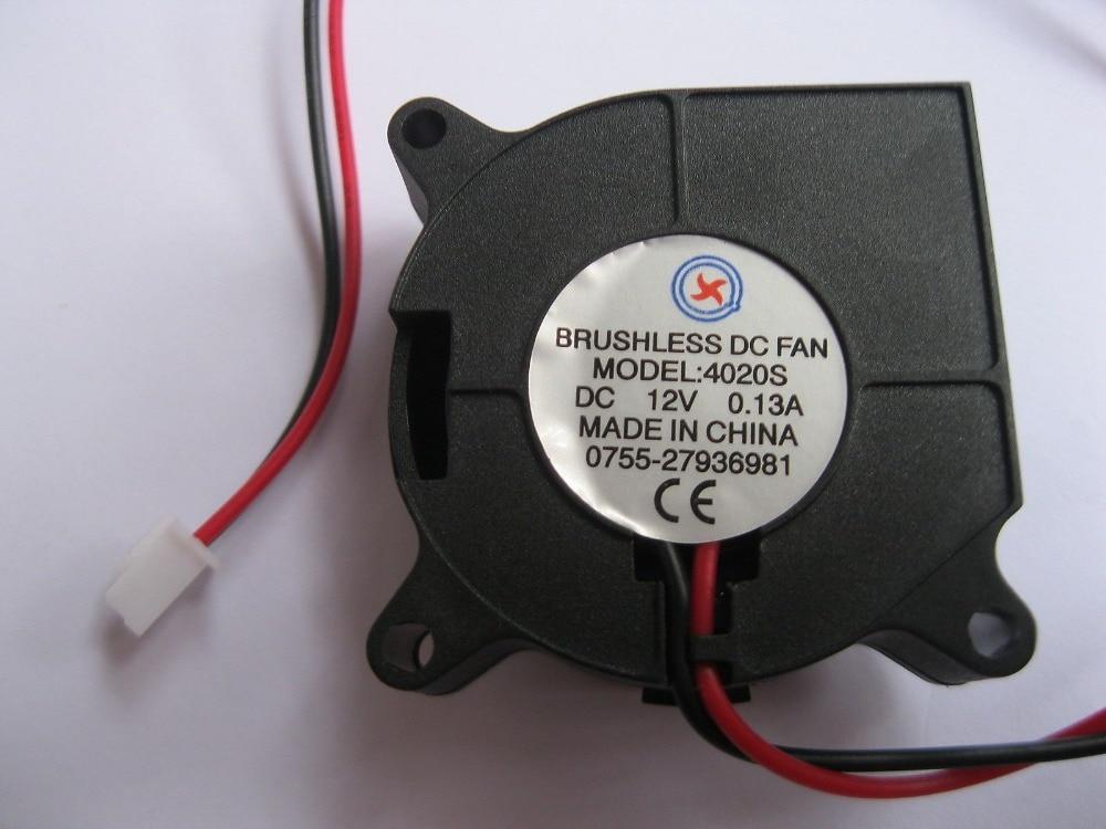 Hvac & Ersatzteile Herrlich 2 Stücke Bürstenlose Dc Kühl Gebläse Fan 4020 S 12 V 40x20mm Gesundheit Effektiv StäRken Heizung, Kühlung & Lüftung