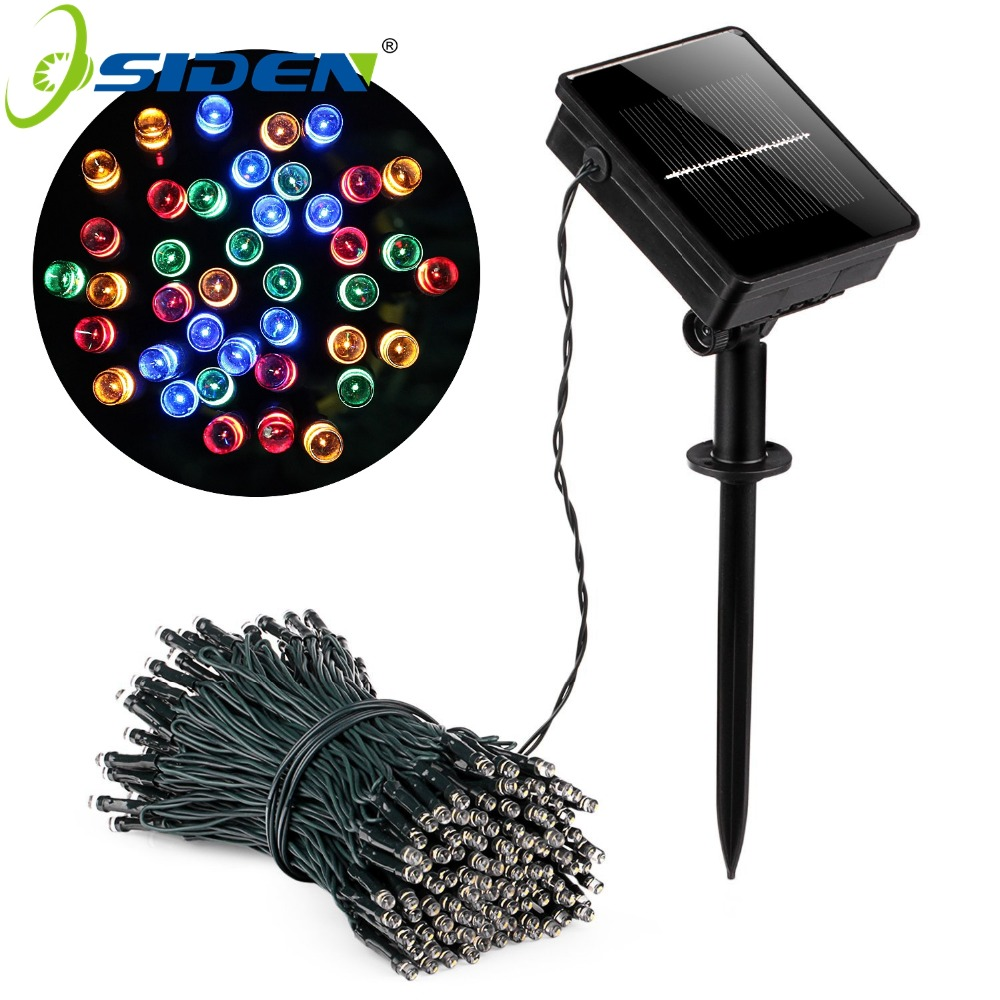 Impermeabile LED Solar String Light 5M 12M 22M Solar Fairy String Light Outdoor Garden Decorazione di nozze Vacanze di Natale