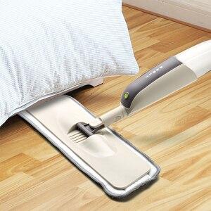 Image 4 - สเปรย์Mopสำหรับไม้เนื้อแข็งชั้นMopไมโครไฟเบอร์เครื่องซักผ้าPadสำหรับQuick Cleanerพร้อมเติมน้ำขวด