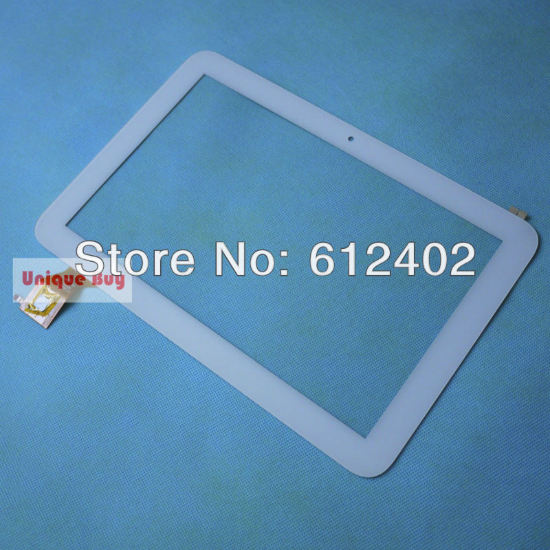 free shipping+tracking# 10.1 capacitive screen digitizer touch screen  for Teclast A11 dual core quad core PB101A8395-R2 white