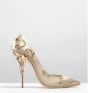 Sestito 2018 Ladies Pointed Toe Wedding Woman Pumps 839ca716078b