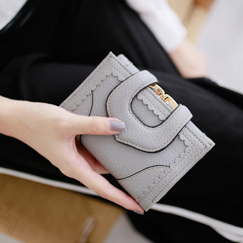 New Fashion Style Women Wallet Lace Hollow Hasp Short High-grade Lady Purse With High Quality Female Wallet MT100992 2016 new brand short women s wallet high quality guarantee designer s high heeled shoes hasp purse for lady free shipping