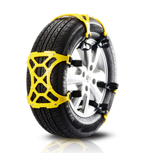 Car Styling TPU Snow Chains Universal Double Buckles Car Winter Roadway Safety Tire Chains Snow Climbing Mud Ground Anti Slip цены