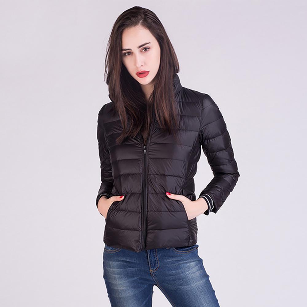 5XL 6XL 7XL Winter Frauen Ultra Licht Unten Jacke 90/% Ente Unten Dünne Jacken Langarm Warme Mantel Marke Parka outwear Plus Größe