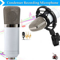 High Quality BM - 700 Condenser Sound Recording 3.5mm Wired Microphone With Shock Mount For Radio Braodcasting Microphone