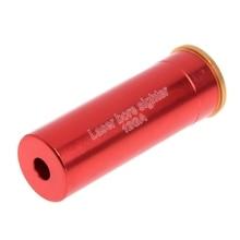 1 шт. Красная точка лазерный прицел 12 Калибр баррель картридж для 12GA калибра лазерной волны 635-655nm