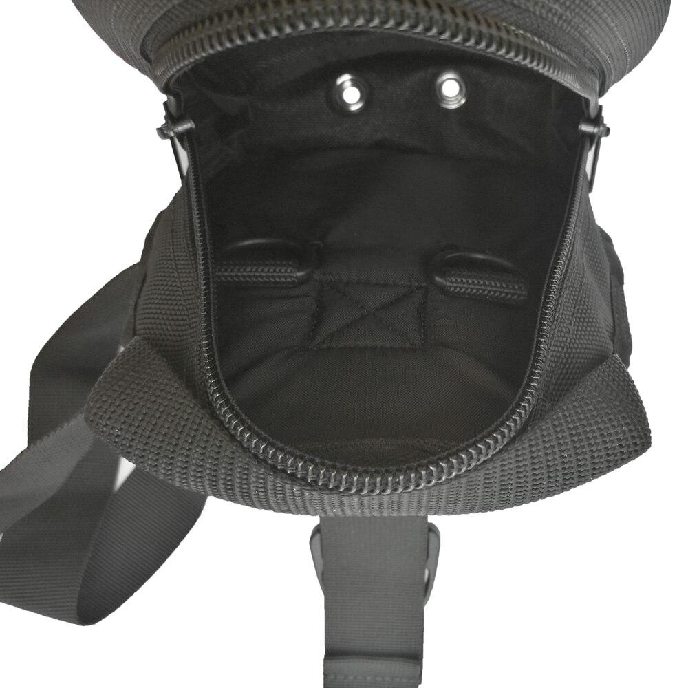 Pochette de rangement à fermeture à glissière pour plongeur poche cuisse avec sangles de ceinture de jambe sac de chargement de plongée pour plongeurs techniques - 3