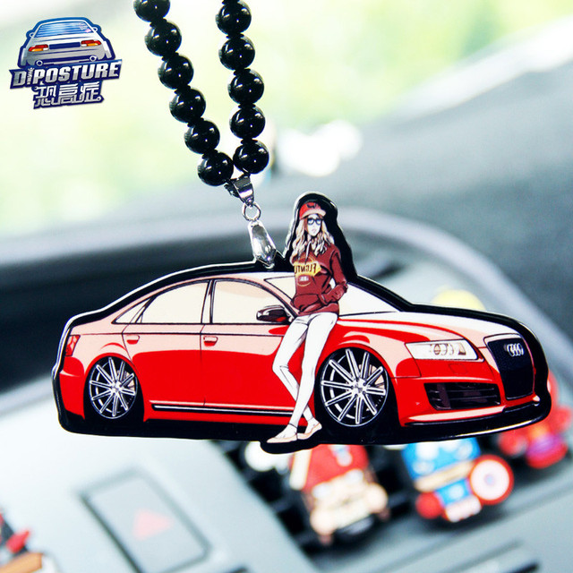High End Car Audi Trend Modified Hang Young Model Car Rearview - Audi high end model