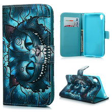 For Sony Xperia XA Case Cover Lovely PU Leather Wallet Card Flip Case Colorful Paint Cat Feather Flower Skin For Sony Xperia XA