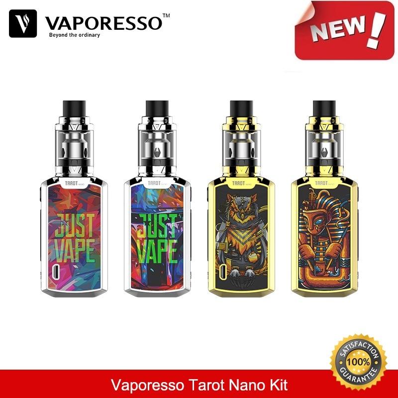 Vaporesso Tarot Nano Kit 80W Box Mod with VECO Vape Tank 2ML Atomizer EUC Coil Vaporizer Electronic Cigarette Vapor 2500mah